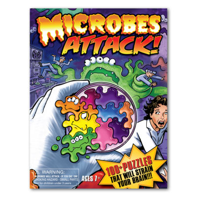 Daddy-O Microbes ATTACK! Brain Teaser