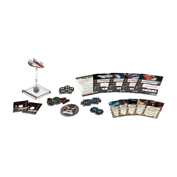 Fantasy Flight Games Star Wars X-Wing Miniatures Game - A-Wing Expansion Pack