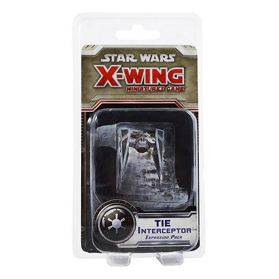 Fantasy Flight Games Star Wars X-Wing Miniatures Game - TIE Interceptor Expansion Pack