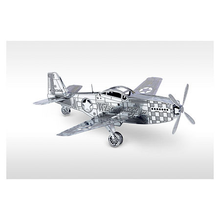 Fascinations Metal Earth 3D Laser Cut Model - P-51Mustang, One Size , Multiple Colors