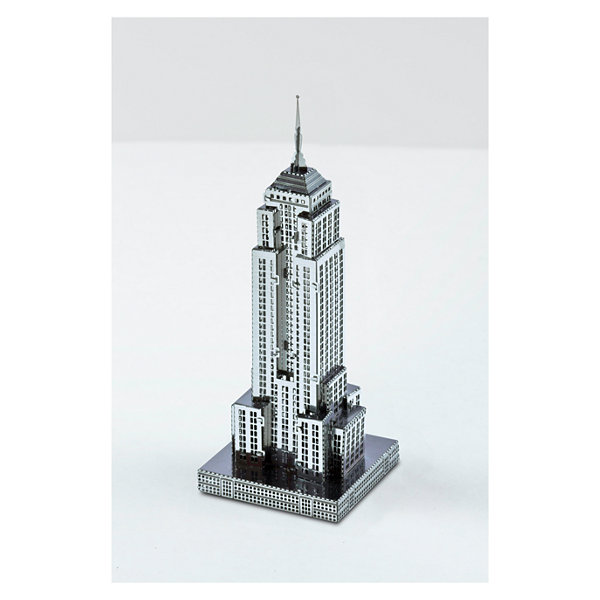 Fascinations Metal Earth 3D Laser Cut Model - Empire State Building