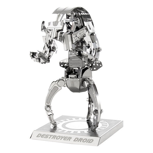 Fascinations Metal Earth 3D Laser Cut Model - StarWars Destroyer Droid