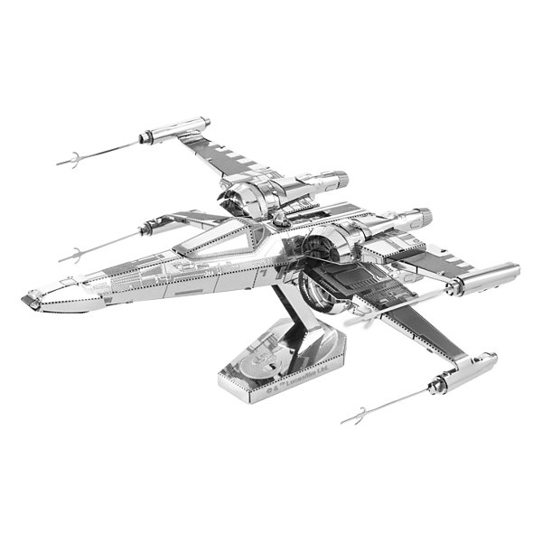 Fascinations Metal Earth 3D Laser Cut Model - StarWars Episode 7 Poe Dameron's X-Wing Fighter