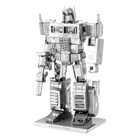 Fascinations Metal Earth 3D Laser Cut Model - Transformers Optimus Prime, One Size , Multiple Colors