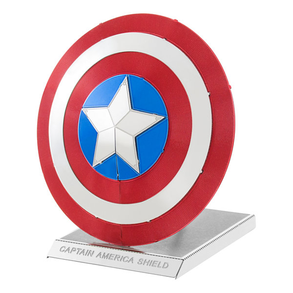 Fascinations Metal Earth 3D Laser Cut Model - Marvel Avengers Captain America's Shield