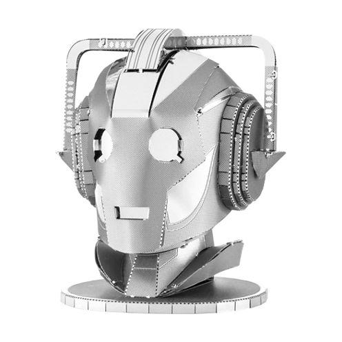 Fascinations Metal Earth 3D Laser Cut Model - Dr.Who Cyberman Head