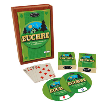 Front Porch Classics Euchre - The Classic AmericanCard Game
