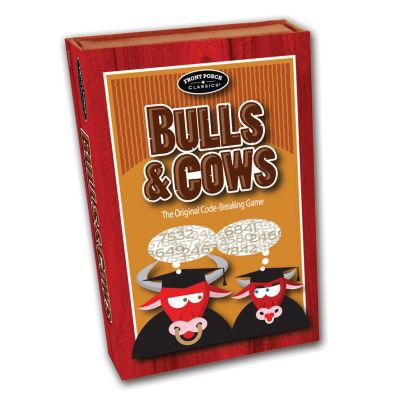 Front Porch Classics Bulls and Cows