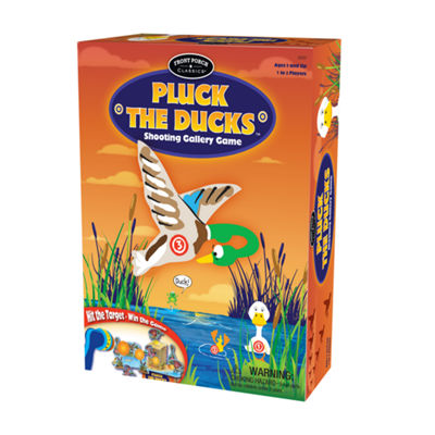 Front Porch Classics Pluck the Ducks Shooting Gallery Game