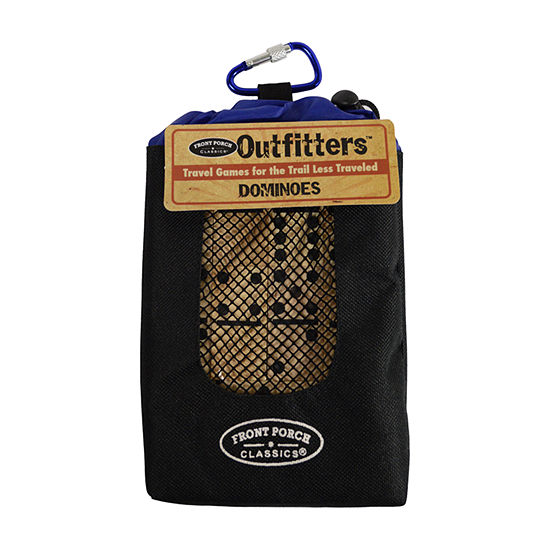 Front Porch Classics Outfitters Travel Collection- Double 6 Dominoes