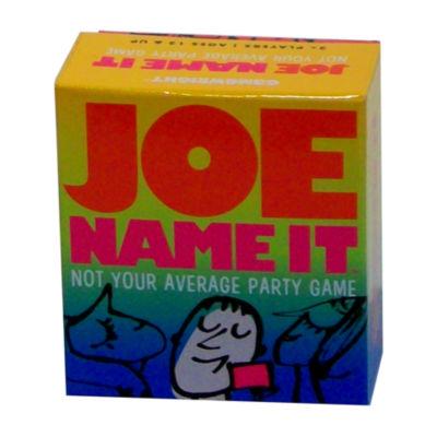 Gamewright Joe Name It
