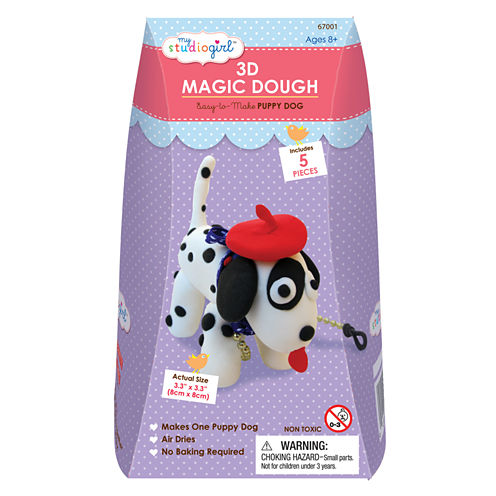 My Studio Girl 3D Magic Dough - Puppy Dog