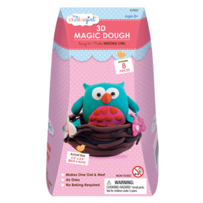 My Studio Girl 3D Magic Dough - Nesting Owl