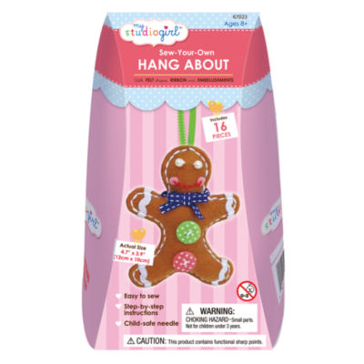 My Studio Girl Sew-Your-Own Hang About - Gingerbread Man