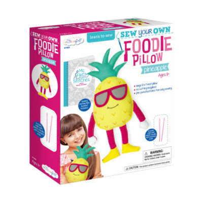 My Studio Girl Sew Your Own Foodie Pillow - Pineapple