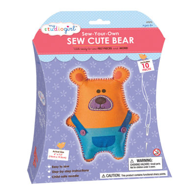 My Studio Girl Sew-Your-Own Sew Cute - Bear