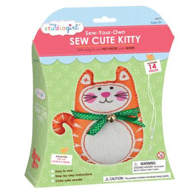 My Studio Girl Sew-Your-Own Sew Cute - Kitty