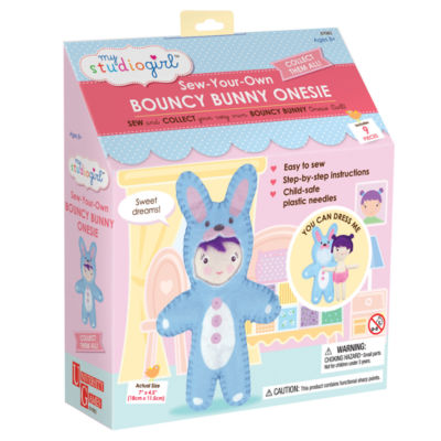 My Studio Girl Sew-Your-Own Bouncy Bunny Onesie
