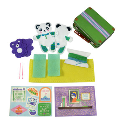 My Studio Girl Make-Your-Own Travel Buddies - Panda