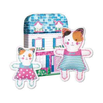 My Studio Girl Make-Your-Own Tiny Town Buddies - Cat