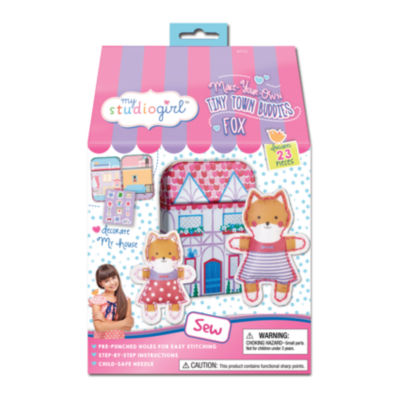 My Studio Girl Make-Your-Own Tiny Town Buddies - Fox