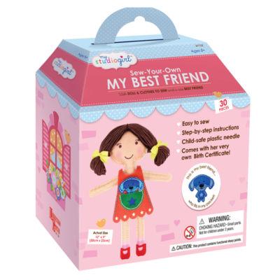 My Studio Girl Sew-Your-Own My Best Friend - Brunette