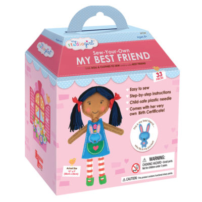My Studio Girl Sew-Your-Own My Best Friend - DarkHair