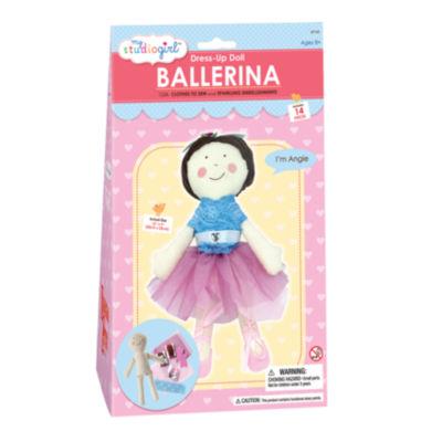 My Studio Girl Dress-Up Doll - Ballerina