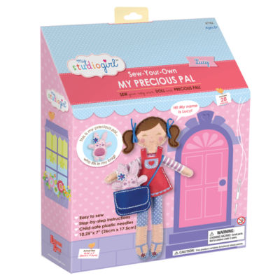 My Studio Girl Sew-Your-Own My Precious Pal - Lucy(Brunette)