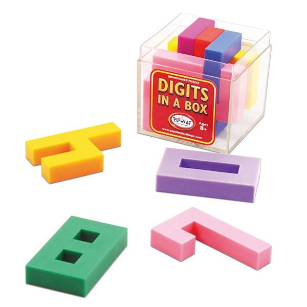 Popular Playthings Digits in a Box