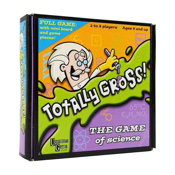 University Games Totally Gross Pocket Travel Game