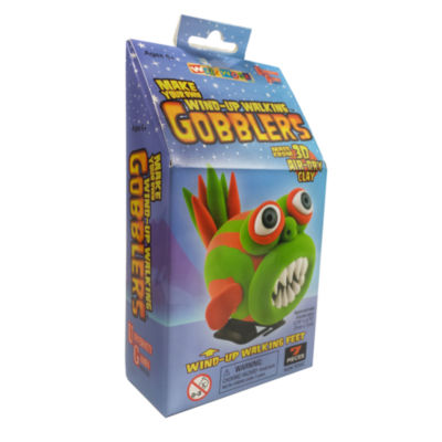 WizzWorx Make Your Own Wind-Up Walking Gobblers -Green