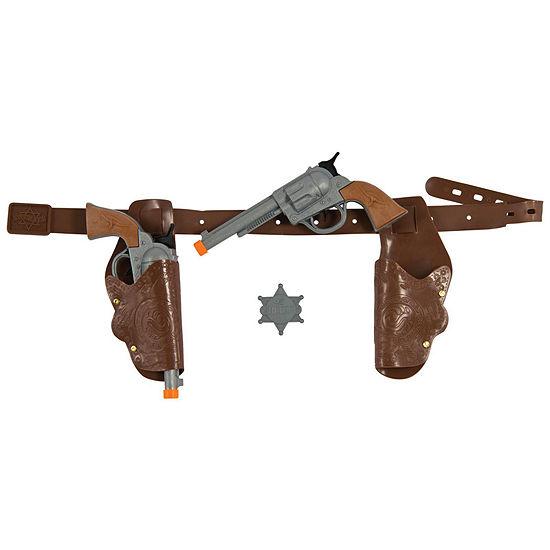 Authentic Western Gunman Belt & Holster