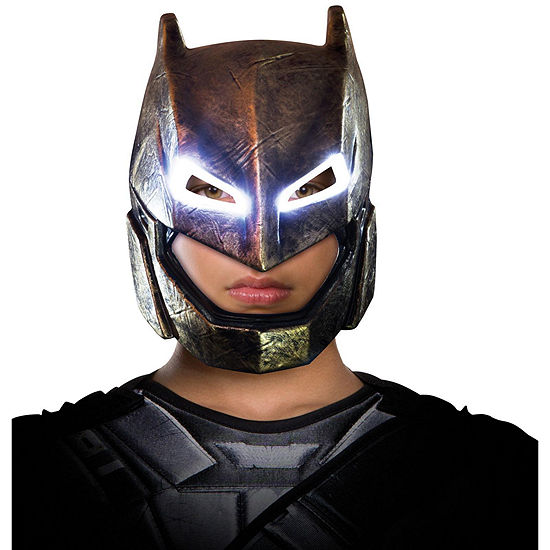 Batman v Superman Dawn of Justice Batman Child Armored Light Up Mask