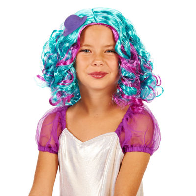 Blue and Purple Pastel Child Wig wHat