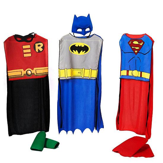DC Comics Boys Action Trio Set Child Costume