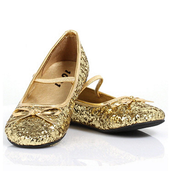 Sparkle Ballerina Child Shoe - Gold