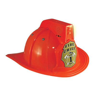 Jr. Fire Chief Light-Up Child Helmet