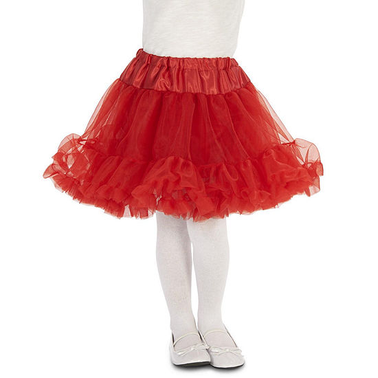 Layered Child Tutu Red