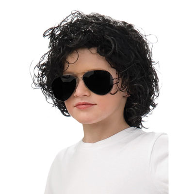 Michael Jackson Child Curly Wig