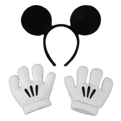 Mickey Ears with Gloves Set