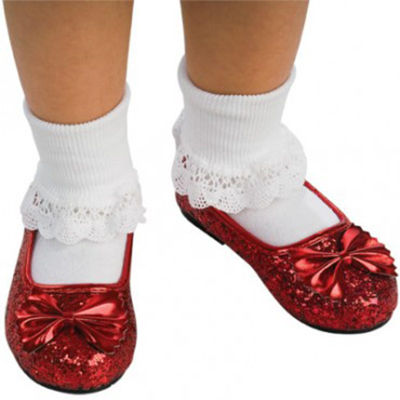 The Wizard of Oz Ruby Slippers Child - Red