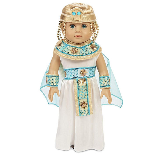"Pharoahs Princess 18"" Doll Costume"""