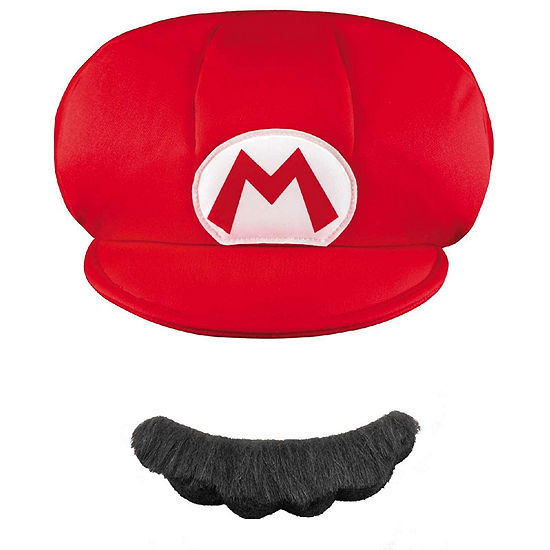 Super Mario Brothers Mario Child Hat & Mustache