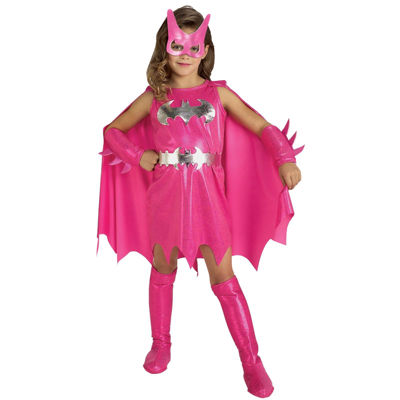 Pink Batgirl Toddler Costume 2-4T