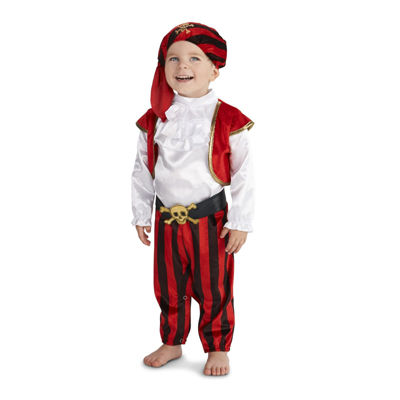 Pirate Captain Toddler Costume 2-4T