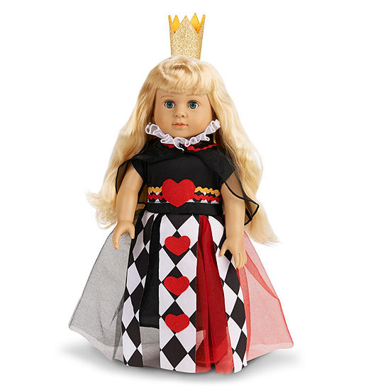 "Queen of Hearts 18"" Doll Costume"""