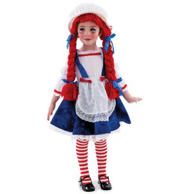 Rag Doll Girl Child Costume