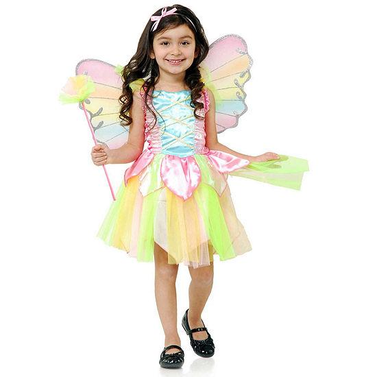 Rainbow Princess Fairy Child Costume