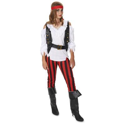 Rebel Pirate Girl Child Costume